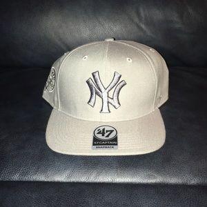 """""""NY"""" New Era SnapBack Grey"""